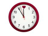 valentines clock poster