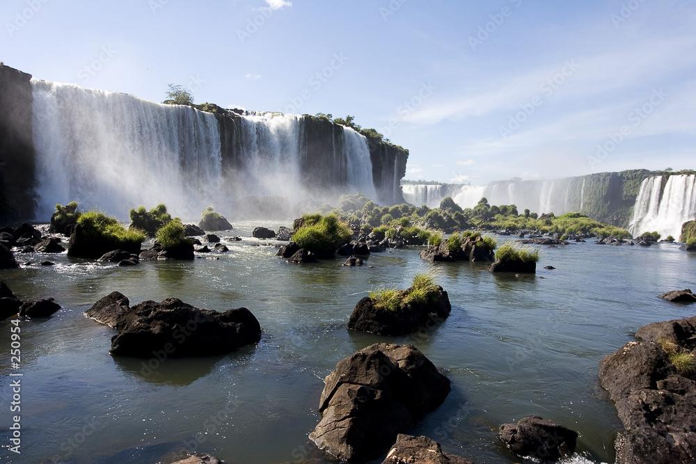 wodospad upadek  - powiększenie