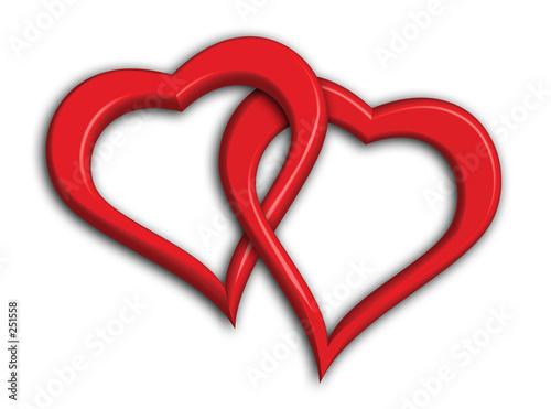 two hearts star of david