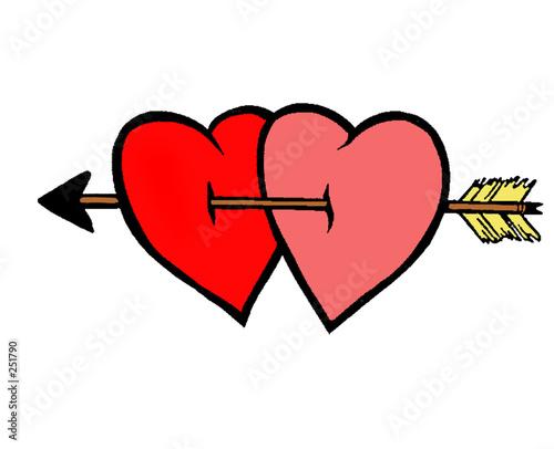 Coeur amoureux photo libre de droits sur la banque d - Coeurs amoureux ...