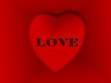 valentine love design poster