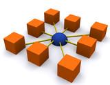 Fototapety even network