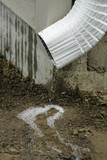 draining rain water poster