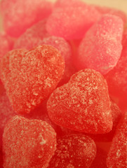sugar coated jujube hearts