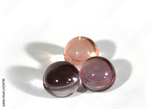 three bath beads