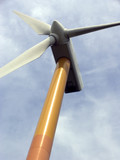 modern windmill 2 poster