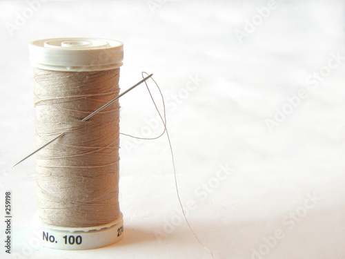 poster of needle and thread