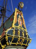 dutch tall ship 2 poster