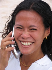 asian woman on the phone 6