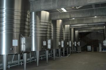 californian wine cellar