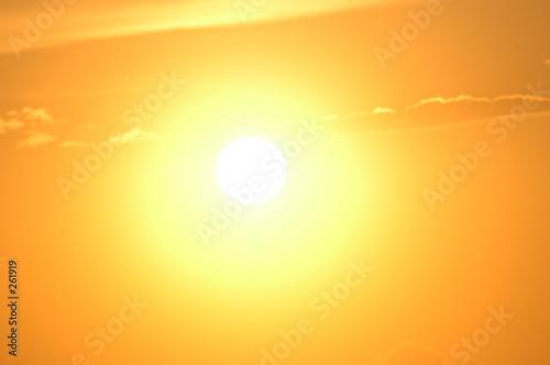 Leinwandbild Motiv direct sun light