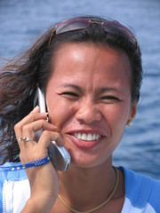 asian woman on the phone 3