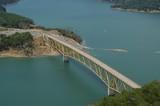 lake sonoma bridge poster