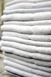 pile de serviettes poster