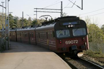 local train in oslo