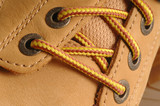 suede shoe detail poster