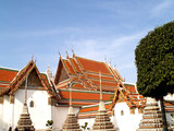 thailand architecture style / watpo poster