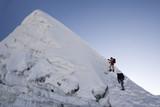 island peak summit - nepal poster