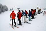 skiers trainings poster