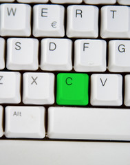 computer keyboard c