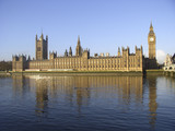 houses of parliament and big ben poster