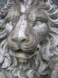Lion statue poster