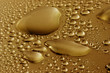 goldene wassertropfen