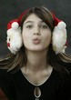 earmuff with santa claus
