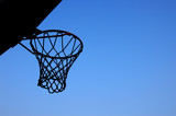 net and sky poster