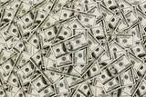 hundred doller bills background poster