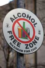 no alcohol sign 11