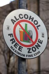 no alcohol sign 11