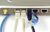 kabelloser netzwerk router poster