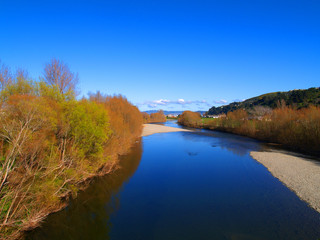 hutt river from melling bridge