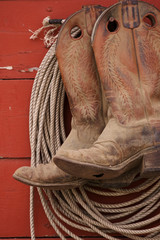 boots and rope