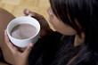 hot chocolate (soft focus)