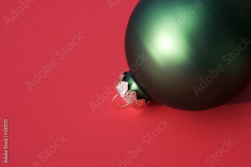 poster of christmas ornament