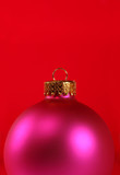 pink ornament poster