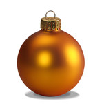 yellow ornament with clipping path poster