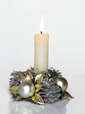 holiday candle poster