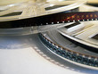 cinema background - film reels