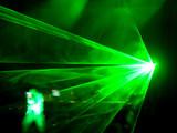 dj concert - laser on the stage poster