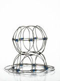 abstract wire circle poster