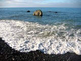 beautiful rocky shoreline poster