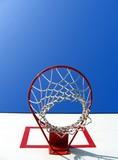 basketball scene poster
