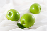 three green apples poster