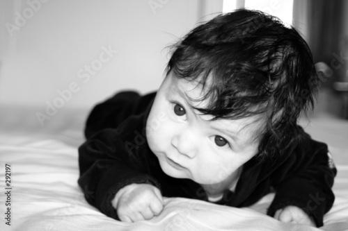 wise looking kid