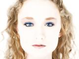digital blue eyes poster