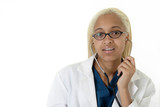 female african american doctor poster