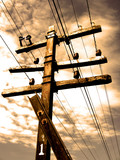 power line poster